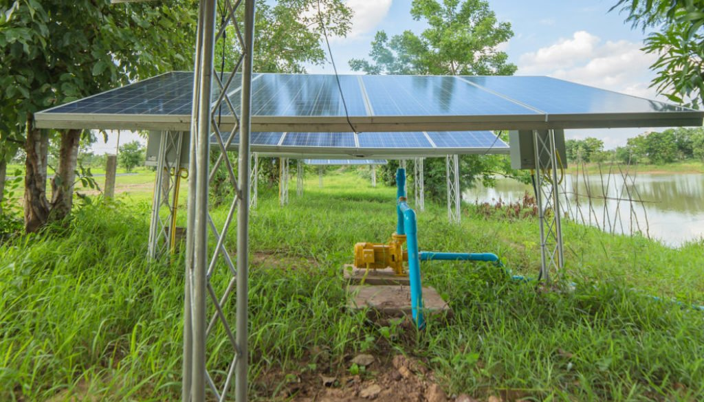 surface water pump, Couleenergy solar module