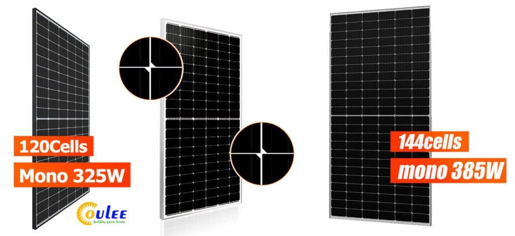 Half Cell Mono Perc solar module 320W