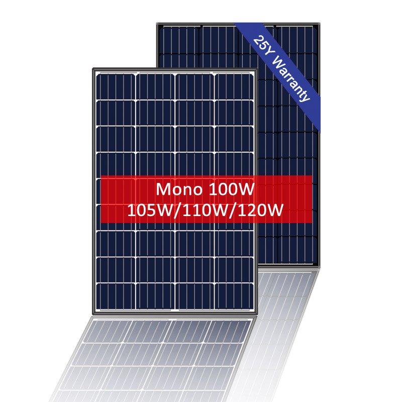 Small Solar Panel Mono 100W, 12V solar module