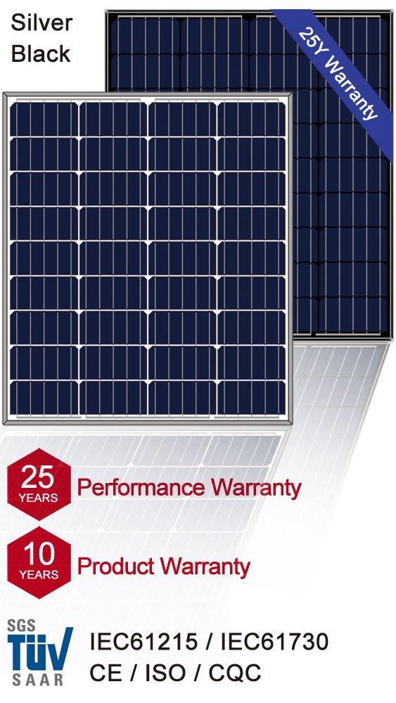 mono solar panel 80Watt, solar module mono 90W