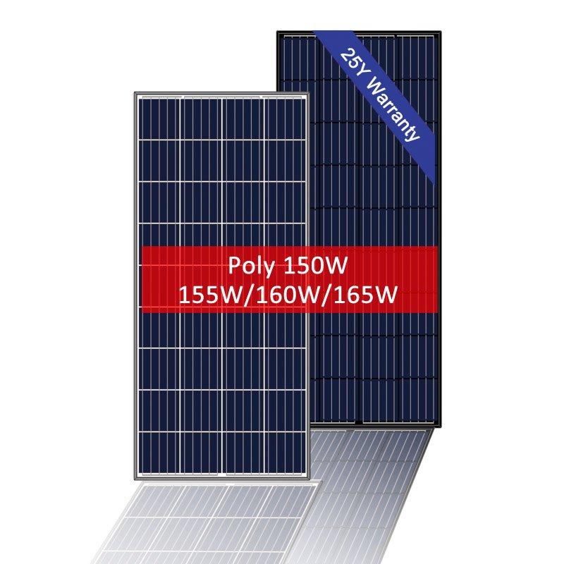 Small Solar Panel Multi-crystalline 150W 12 Volt