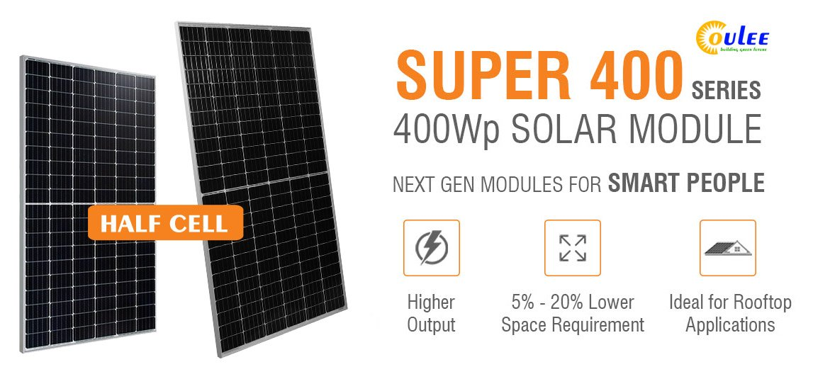 Half Cut Cell Mono Perc Solar Panel Coulee Limited