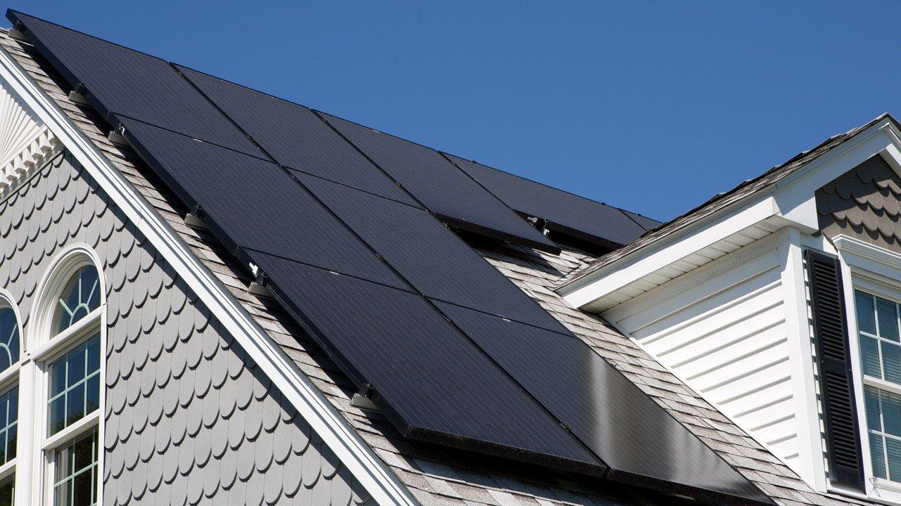 Black Solar Panels, Mono PERC All Black 320Wp