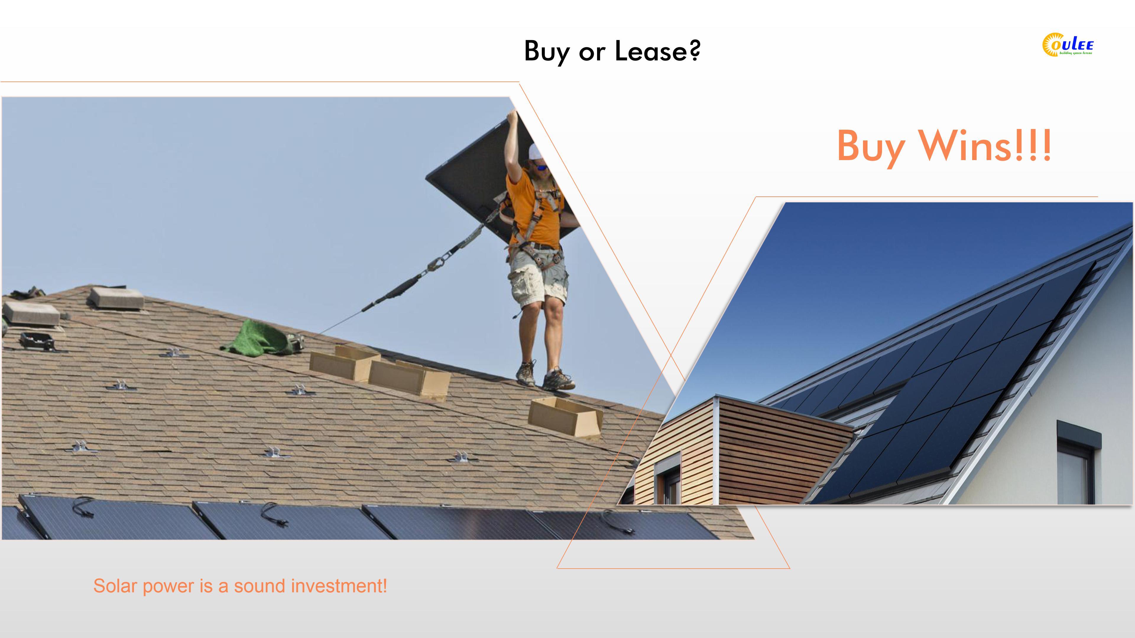 Buy solar panels, solar panels installation