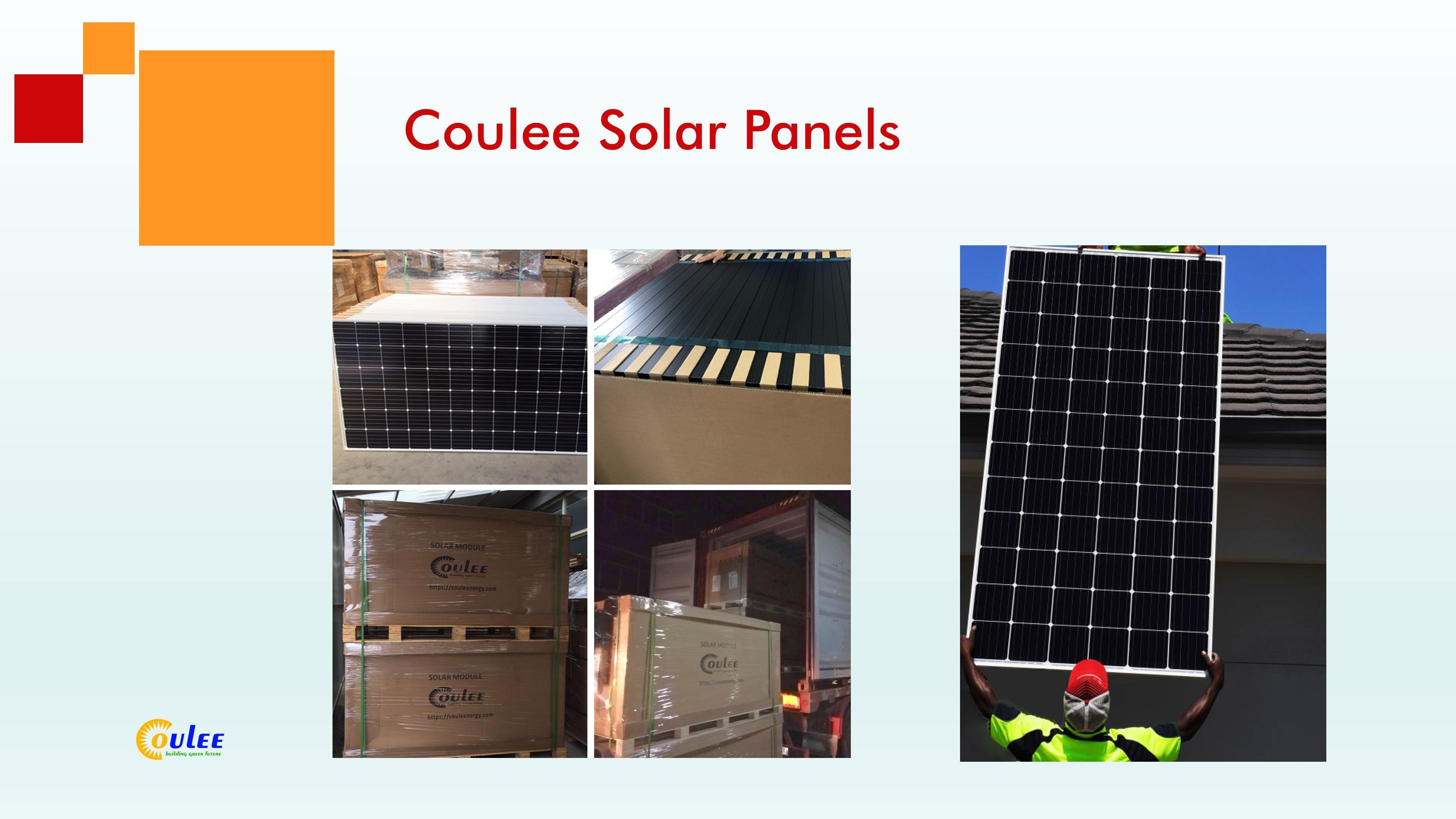 Coulee Solar Panels, Mono Solar Panels, Black Mono Solar Module