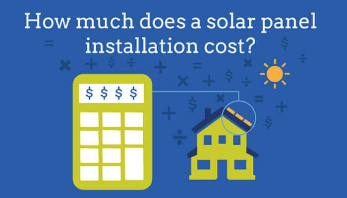 solar power for home cost, solar energy cost