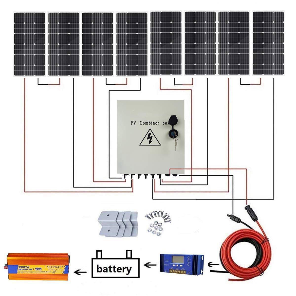 home solar installation, off grid solar power, pv system cost