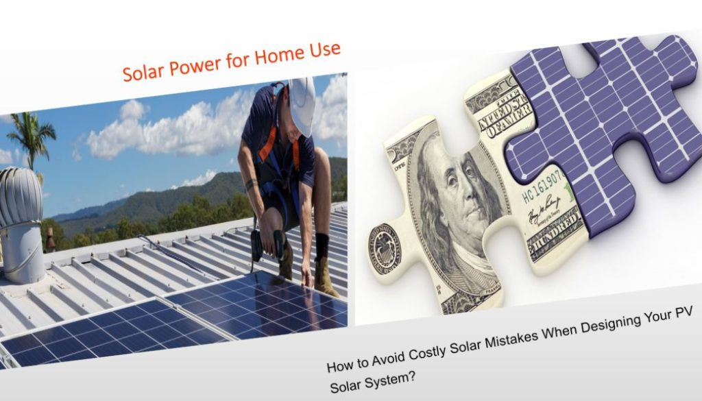 Solar Panels For Your Home >> 8 Costly Solar Mistakes To Avoid When Designing Your Home