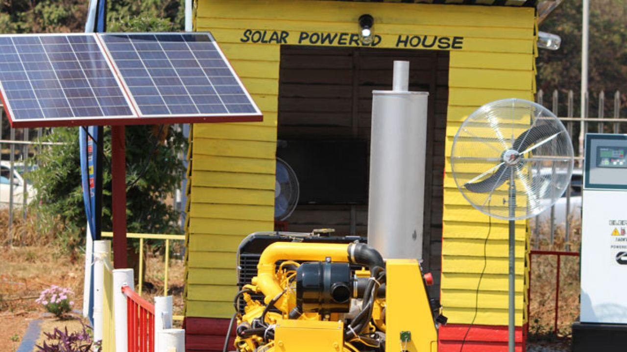 On grid solar panel system