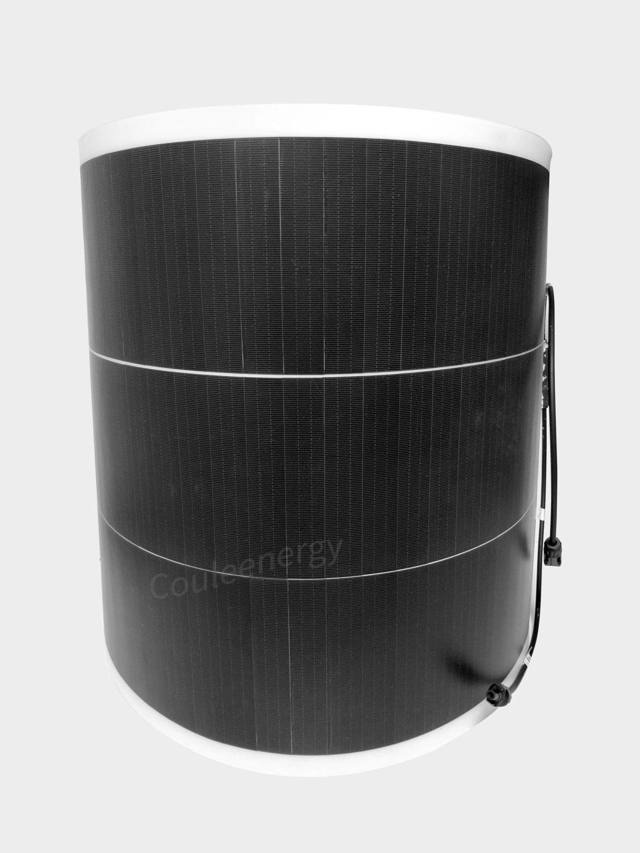 12V Flexible Solar Panel, 100W 12V Semi-Flexible Solar Panel