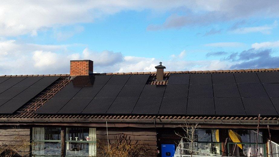 Black Solar Panel