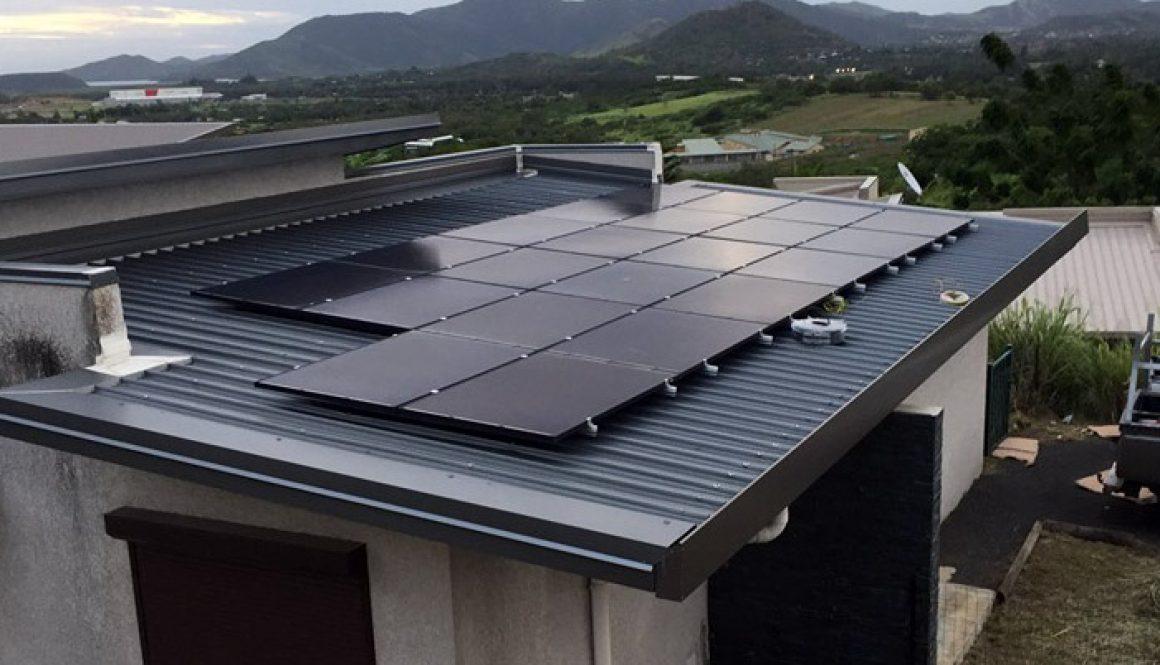 Black Solar Panel, Off Grid PV System