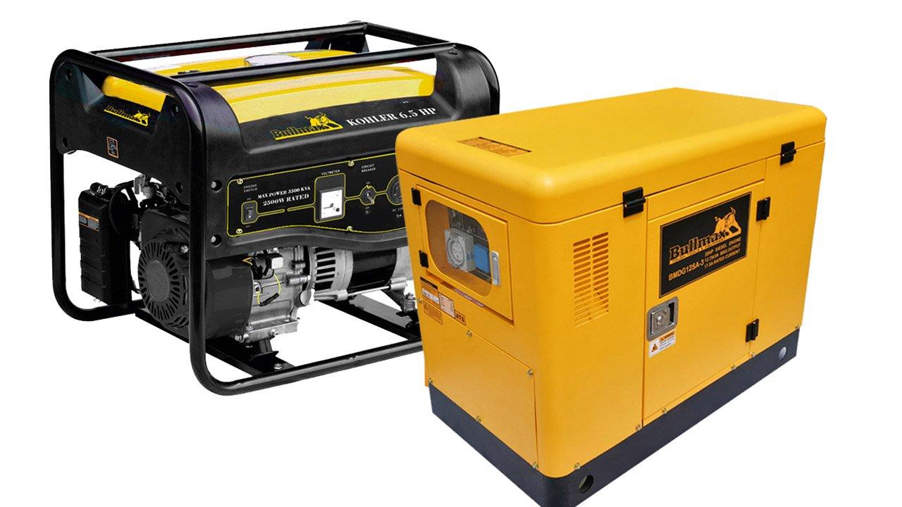Diesel Generator for backup solar energy