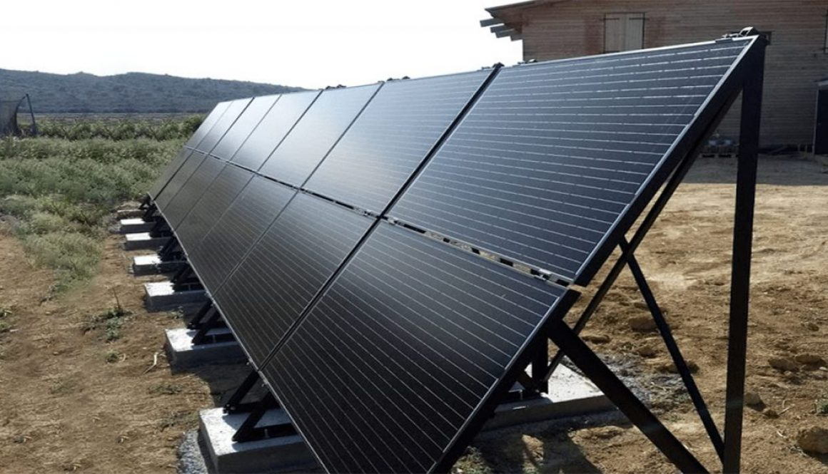 Off Grid Solar Systems with Black Solar Panels