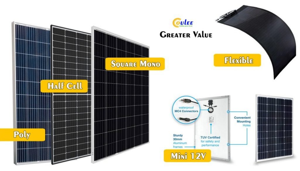Mono Solar Panel, Poly Panel, Flexible Panels