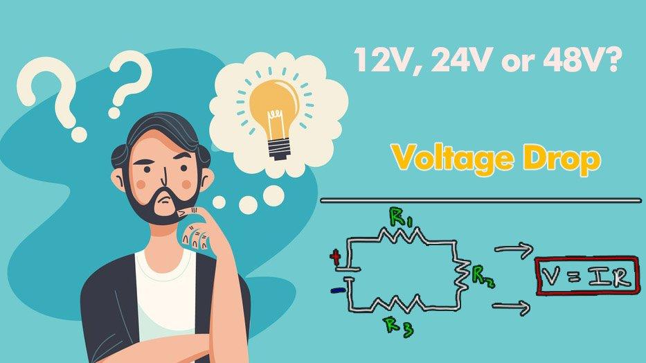 Off grid solar system Voltage Drop, Solar PV Wire