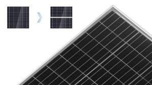 Half-cut Cell Solar Module